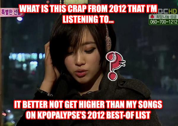 KPOPALYPSE's 30 favourite k-pop songs of 2012 | KPOPALYPSE