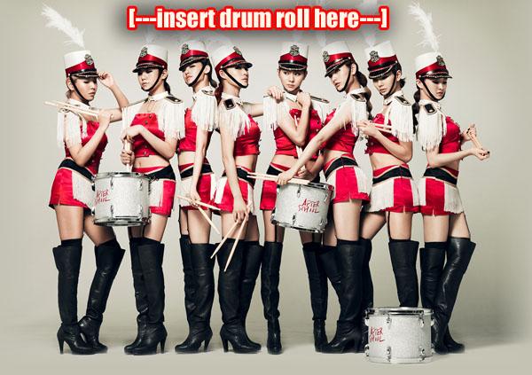 drumroll copy