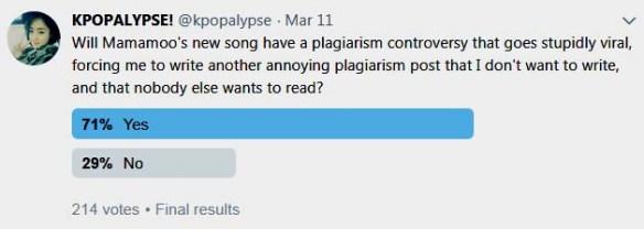 Kpopalypse Plagiarism Fun Times Episode 7: Mamamoo (again