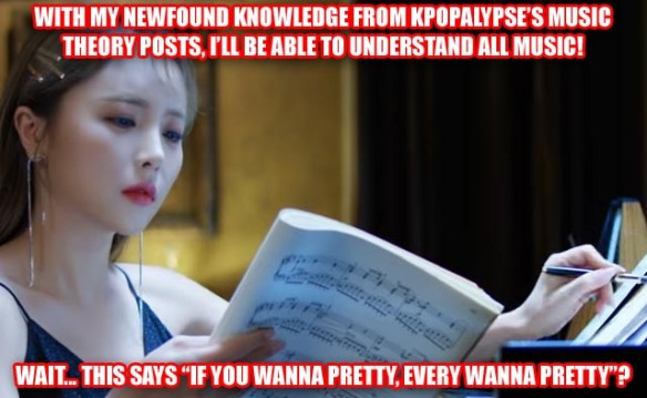 Kpopalypse's music theory class for dumbass k-pop fans: part